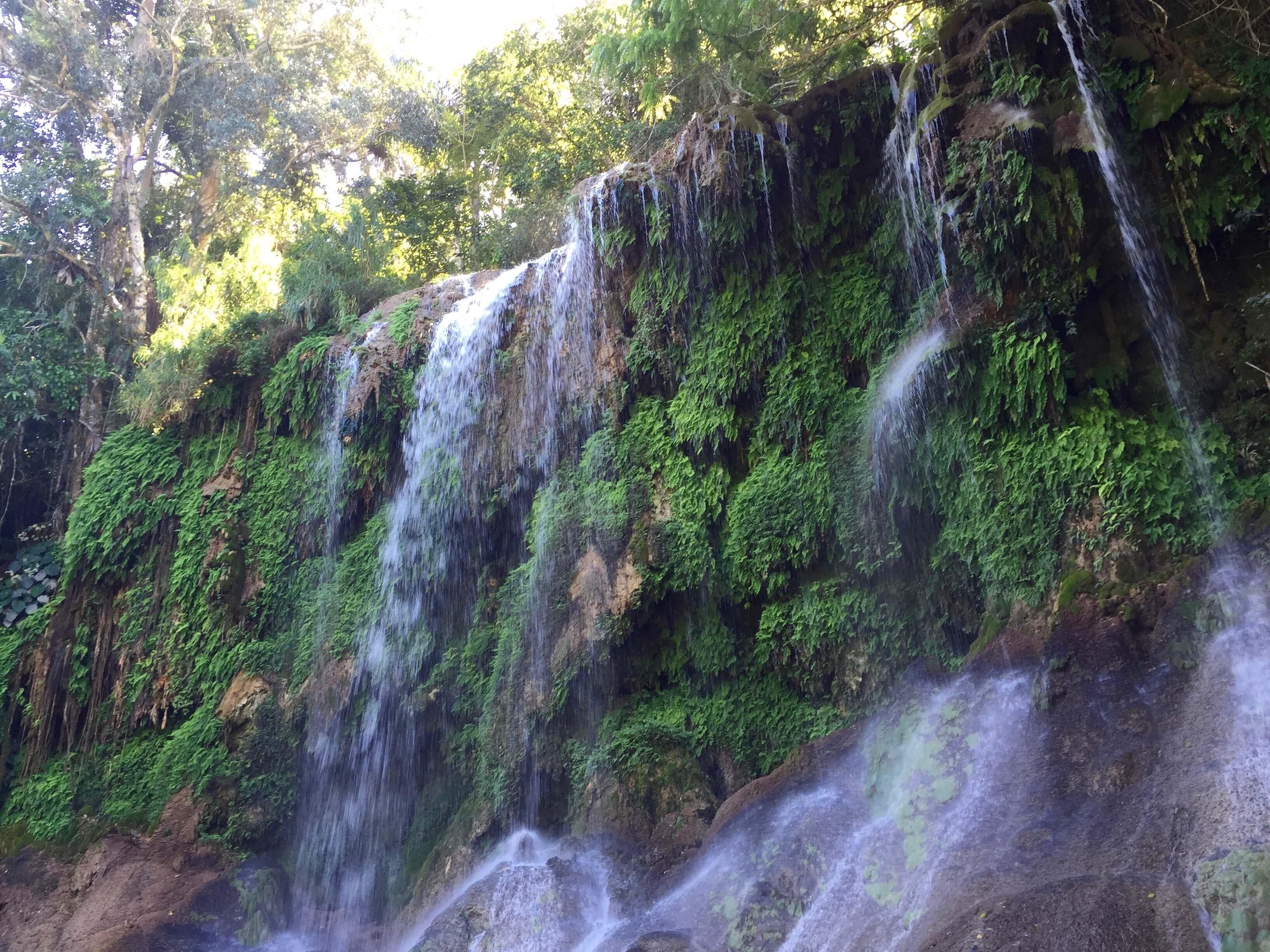 El Nicho Wasserfall