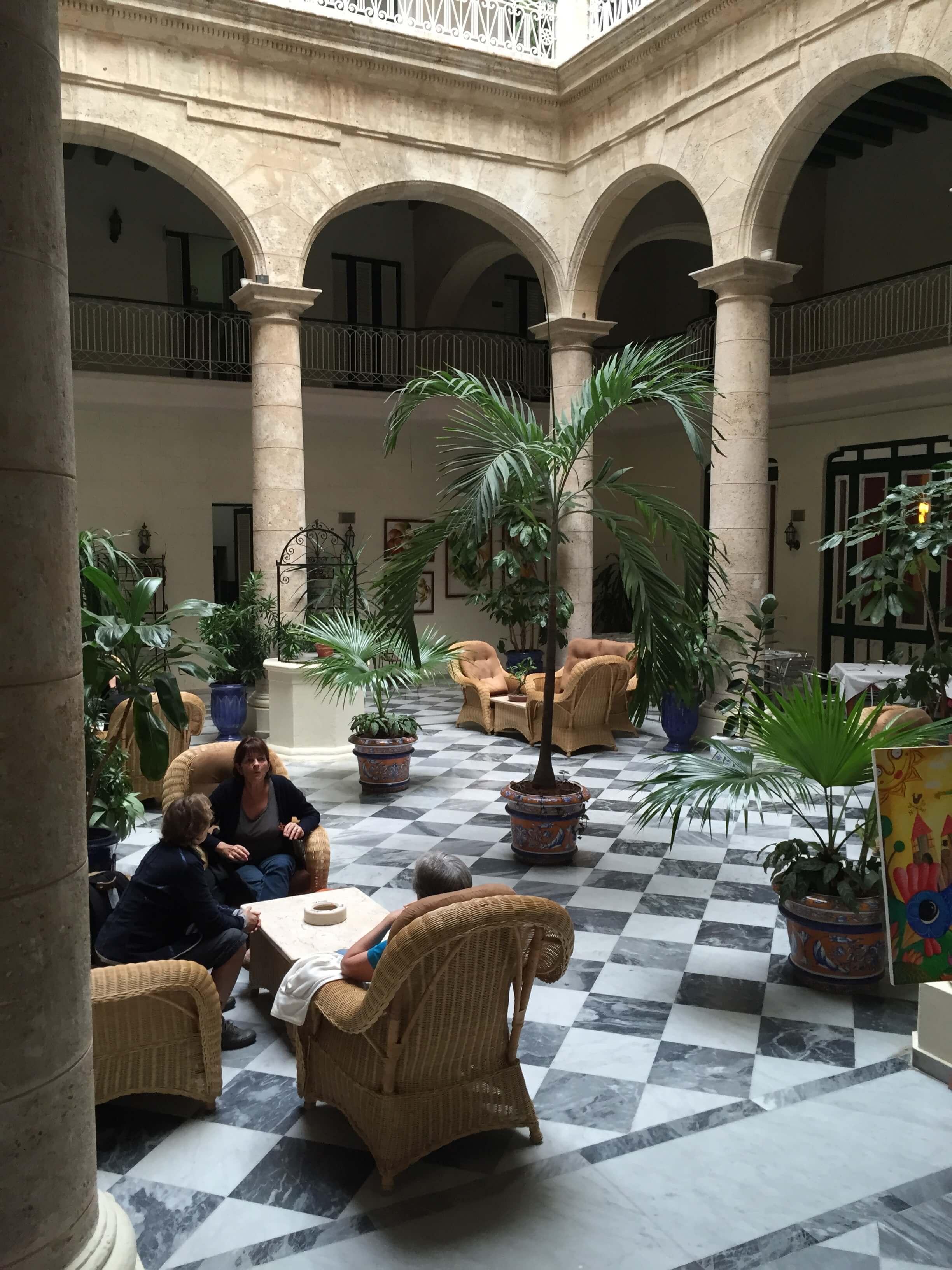 Hotel Florida Eingangshalle