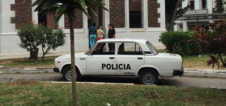 Polizei Auto Kuba