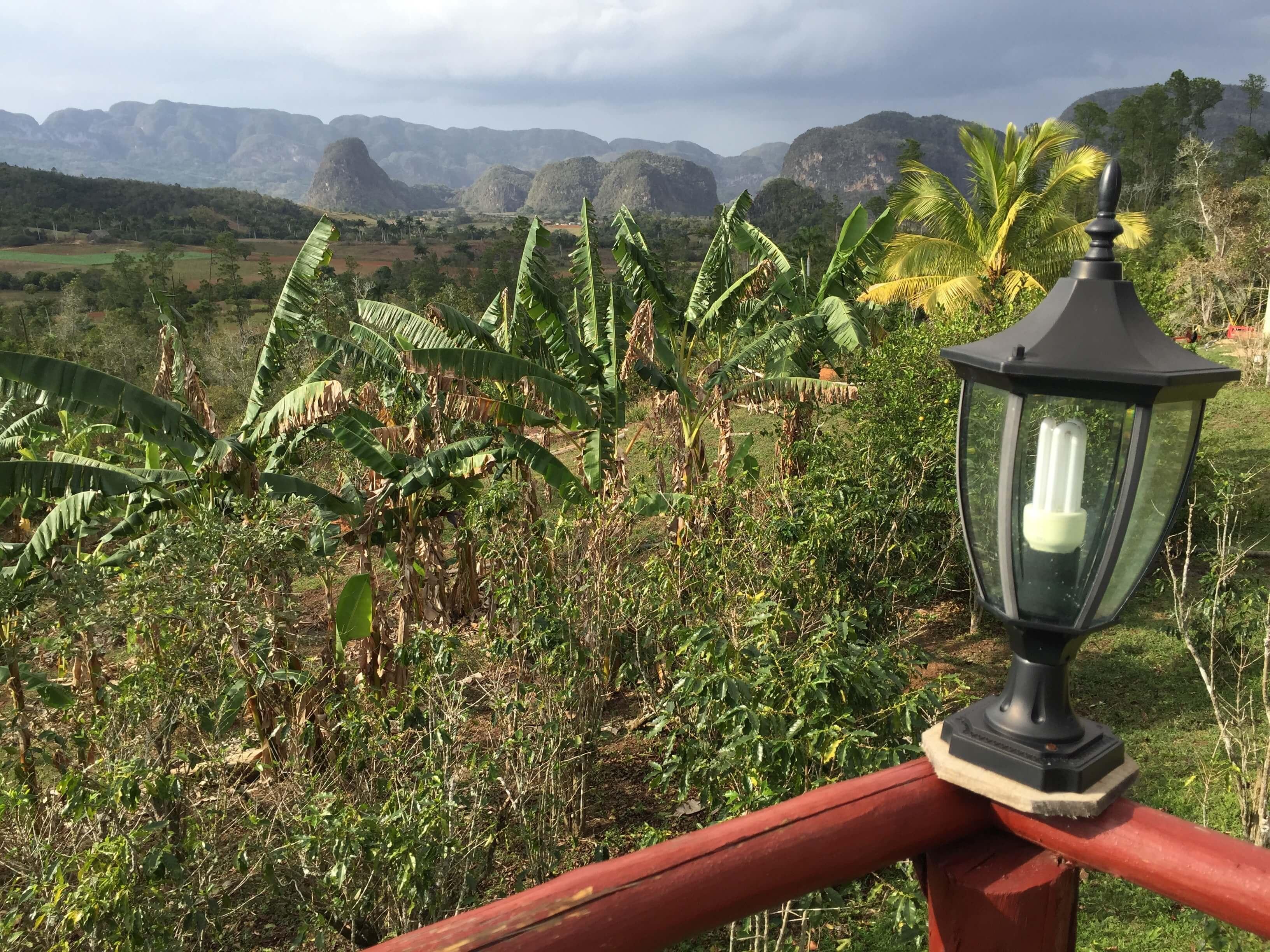 Vinales Hügel Landschaft Aussicht