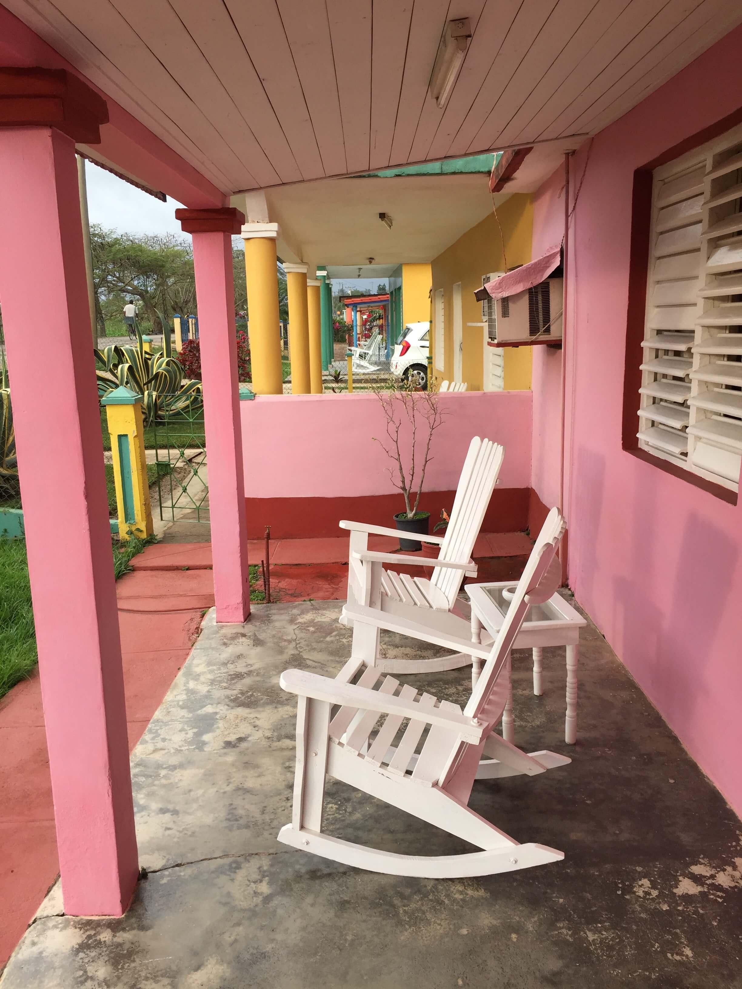 Vinales Villa Eduviel Sitzplatz