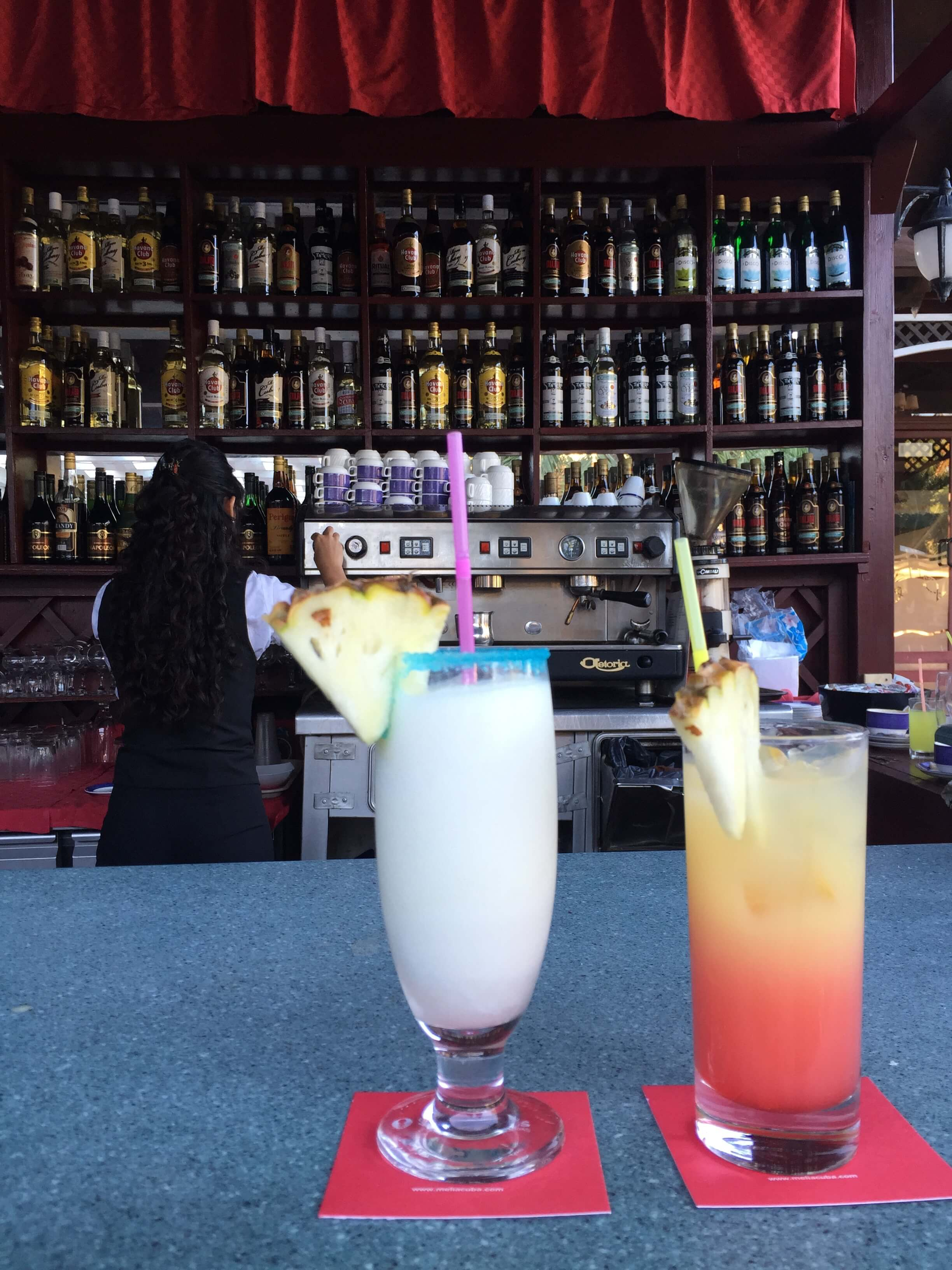 Cayo Santa Maria Bar Drinks