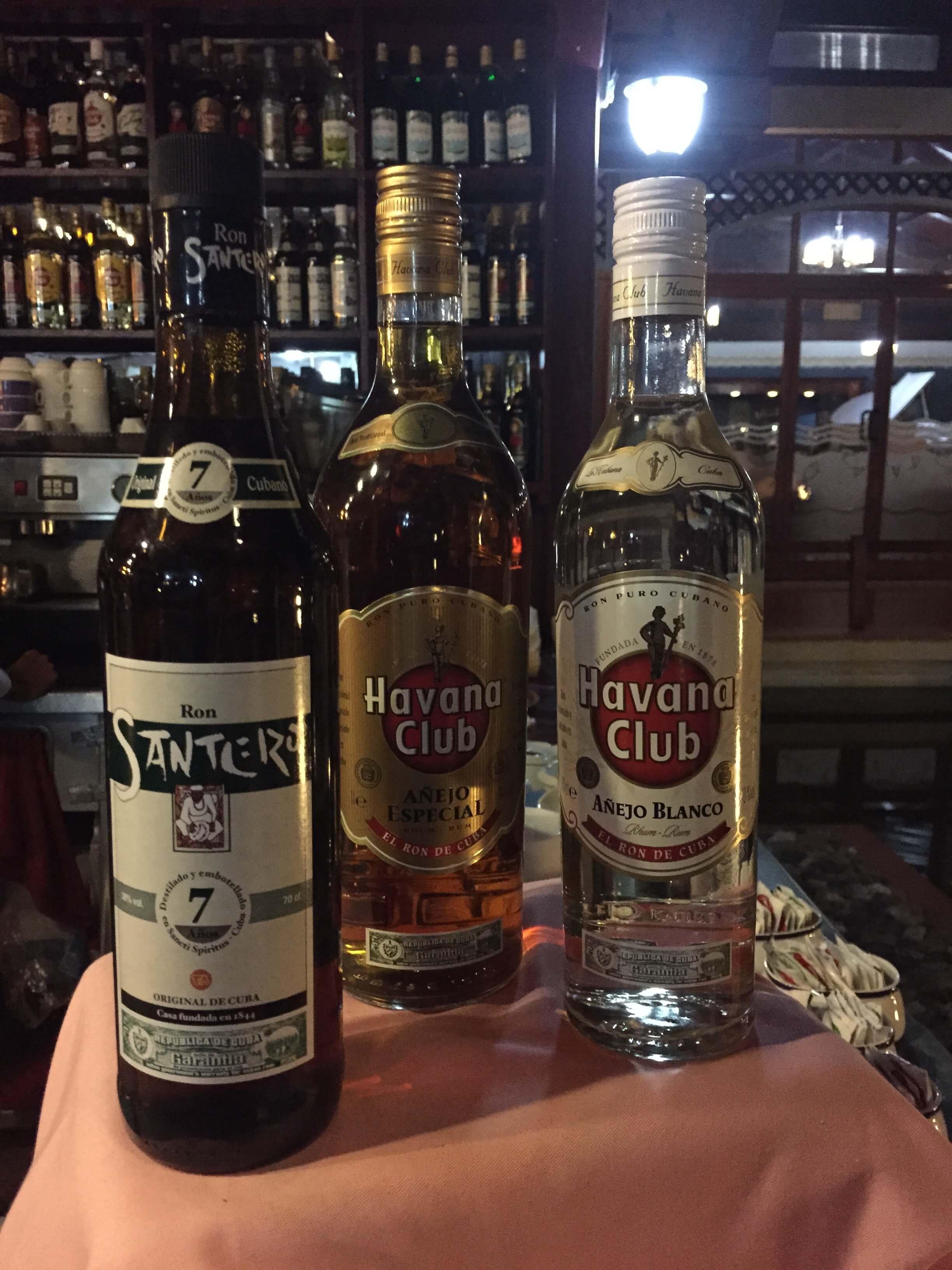 Cayo Santa Maria Bar Rum