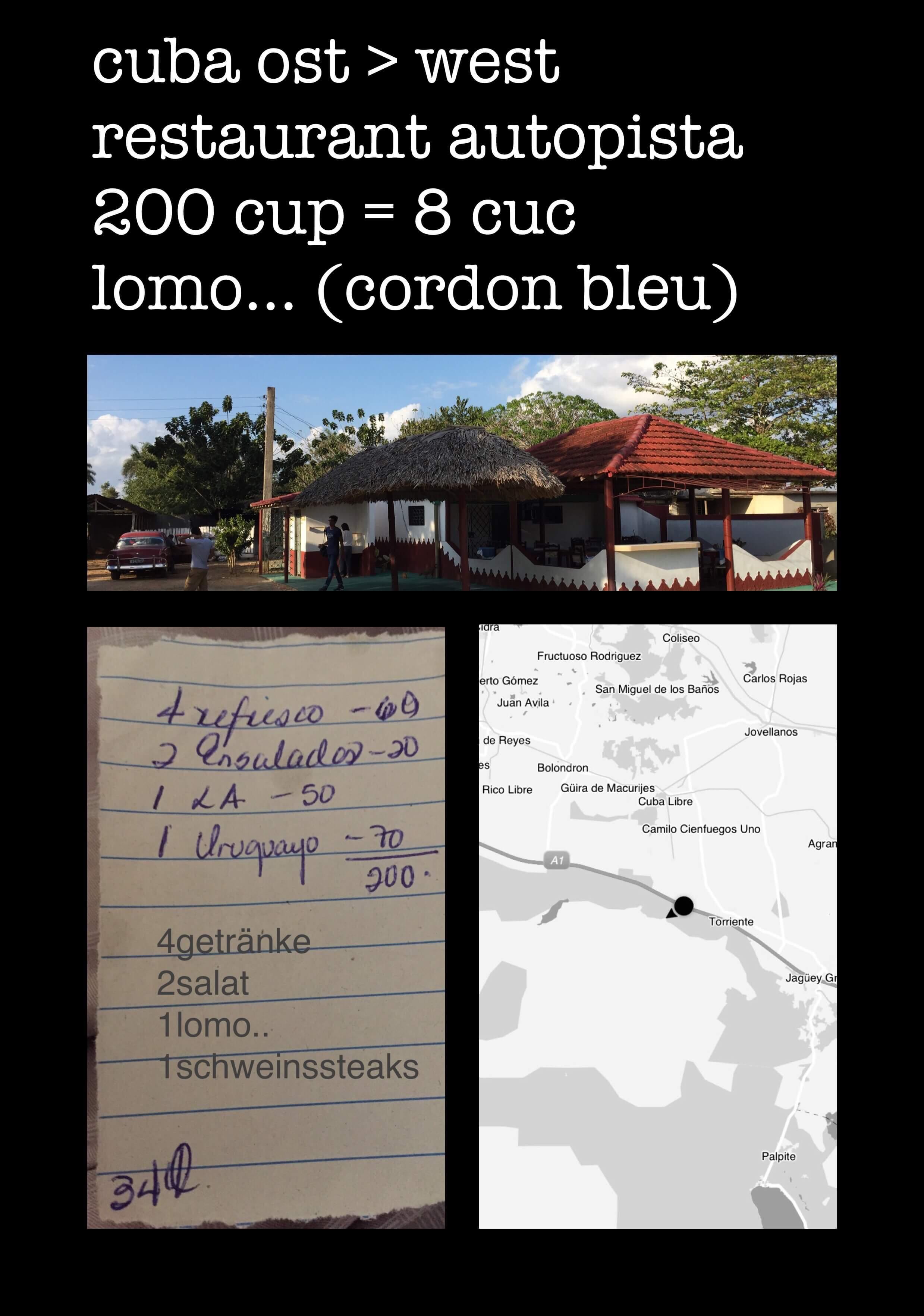 Restaurant Kuba Autopista